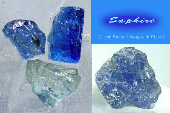 Sapphire from Kenya. (C) Copyright Emerald Centre