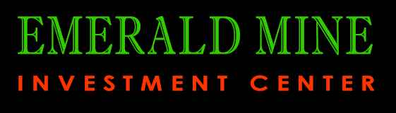 Emerald Mine Investment Center (R) Registered Trade Mark, (C) 1998 Copyright on full site.